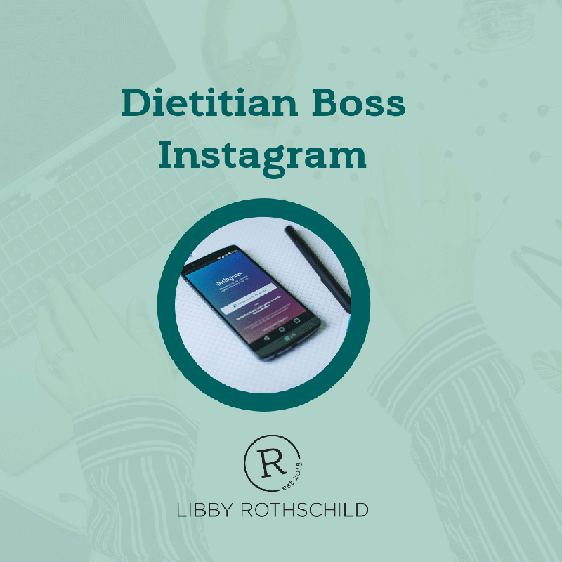Dietitian Boss Instagram Course